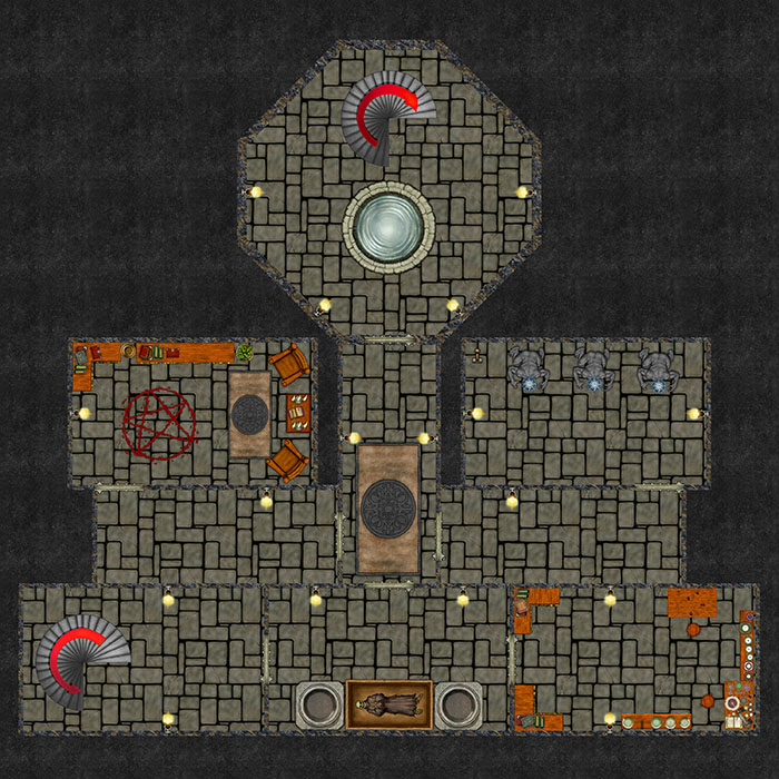 Bizeth Tower - Dungeon Level 1