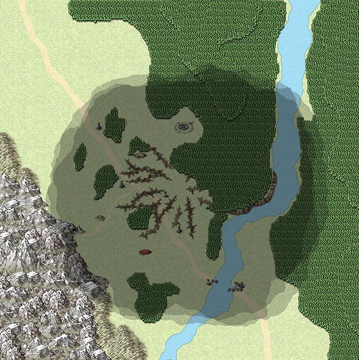 """""""Deathstone"""" Region Map"""