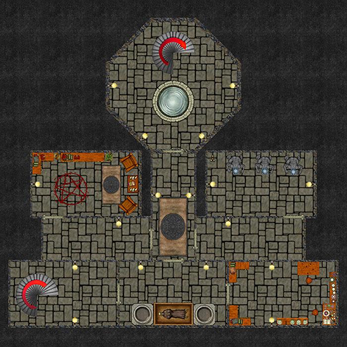 Bizeth Tower - Dungeon Level 1
