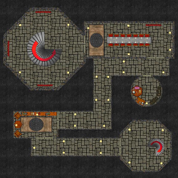 Bizeth Tower - Dungeon Level 3