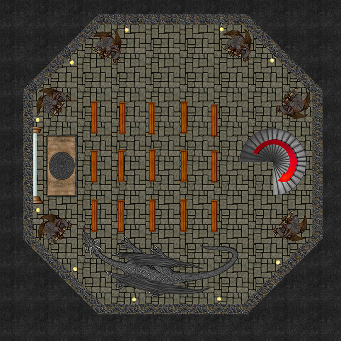 Bizeth Tower - Dungeon Level 4